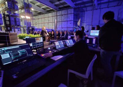 SUPPORTO TECNICO EVENTI FONICO LIGHT DESIGN DMX VIDEO MAKING