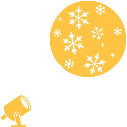 proiezioni architetturali natalizie logo gobo gobo proiettori goboproiettori natale