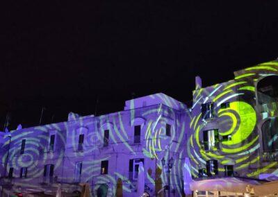 Proiezioni, architetturali, natalizie, loghi, logo, gobo, festività brescia, noleggio, audio, video, luci effetti speciali milano, provincia, bergamo, cremona, verona, casse, dj, feste, impianti
