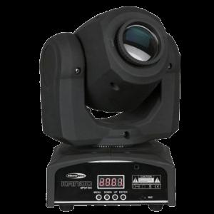 NOLEGGIO TESTA MOBILE MINI SPOT 60W LED, affitta da Black Star Service audio, video, luci, schemi led a BRESCIA - IL MIGLIORE