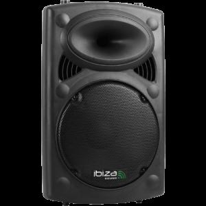 """noleggio audio casse a batteria speaker ibiza 12"""" attive noleggio audio brescia"""