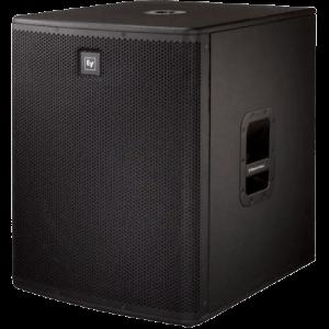 """noleggio audio casse speaker EV 18"""" attive noleggio audio subwoofer electro voice brescia"""