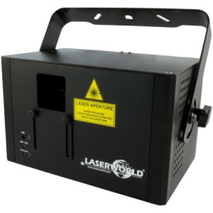 Noleggia il tuo Laser CS1000RGB MKII Laserworld da black Star Service a Brescia o visita la sezione e noleggia tutto il materiale necessario luci come laser, strobo e molto altro