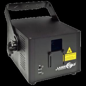 Noleggia il tuo Laser CS2000RGB MKII Laserworld da black Star Service a Brescia o visita la sezione e noleggia tutto il materiale necessario luci come laser, strobo e molto altro
