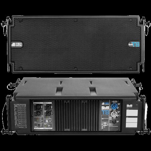 noleggio audio casse array digitale attivo t8