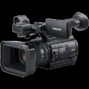 videocamera a noleggio Sony 150 4k