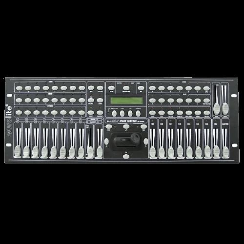 Noleggio Controller DMX Stage Control 136 Ch, affitta i migliori controller DMX da Black Star Service a Brescia o contattaci per informazioni