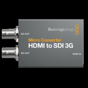 noleggio convertitore HDMI ad SDI per streaming video broadcasting